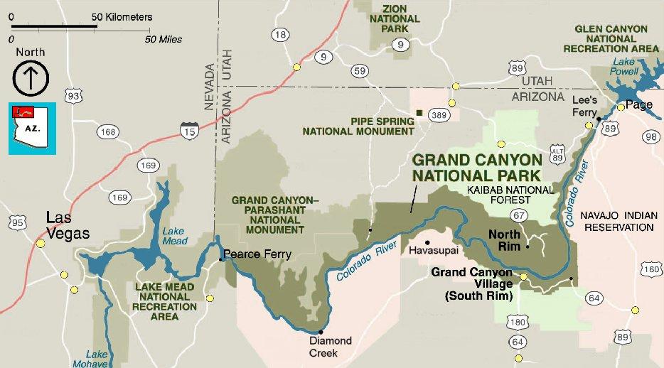 Havasupai Falls Grand Canyon Az Images